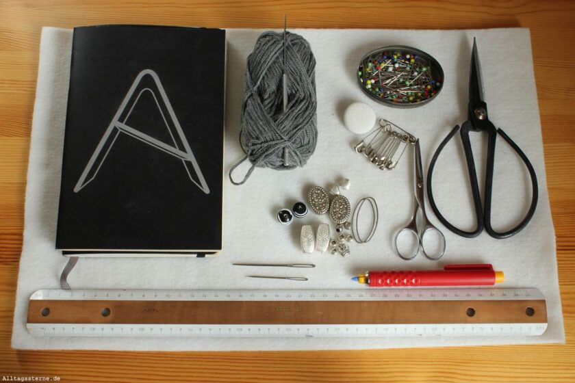 Alltagssterne-Ideenkeime-DIY-Notzibuchhülle-Filz-Übersicht